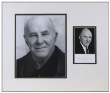 Clive James Autograph Photo Display